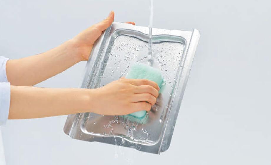 簡単水洗い