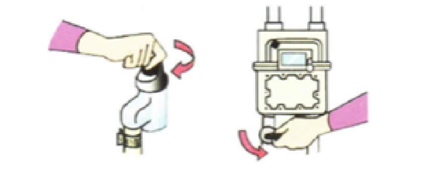 ガス栓の閉止