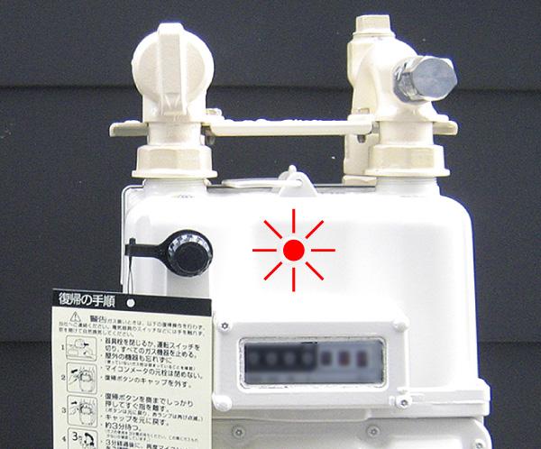 都市ガス用メーター